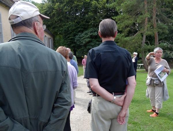 Visite du château de Mauvilly avec l'Office du Tourisme du Pays Châtillonnais