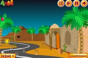 Jouer à AVM Desert camel escape