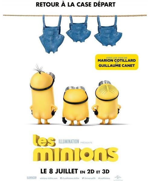 "Bonsoir a l'honneur : "" Les Minions """