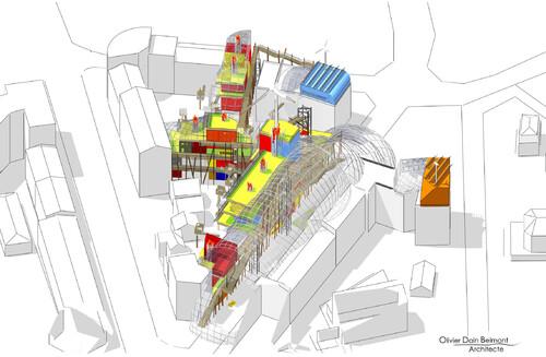 Portfolio axonométrique 06 : Maison des villes