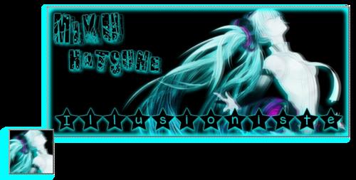 Bannière : Miku Hatsune Illusioniste