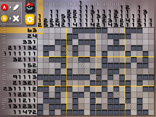 Heatran Pokémon Picross