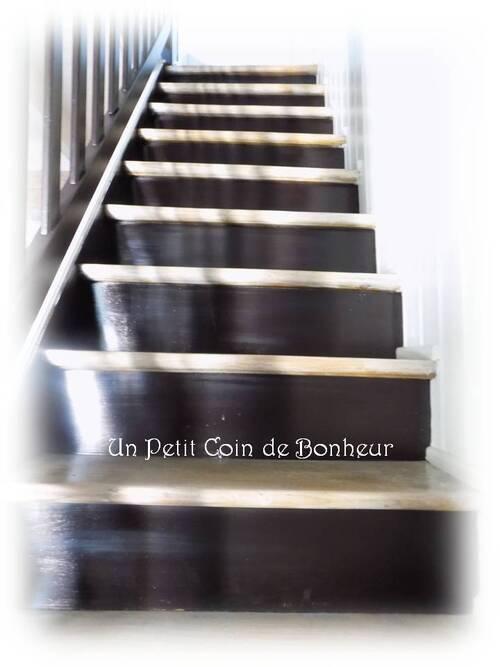Restauration : Escalier