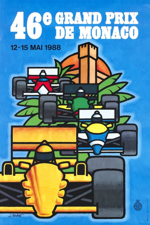 GP automobile de Monaco ( 1980-1989 )