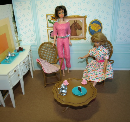 Vintage Barbie : American Girl -  Invitation To Tea
