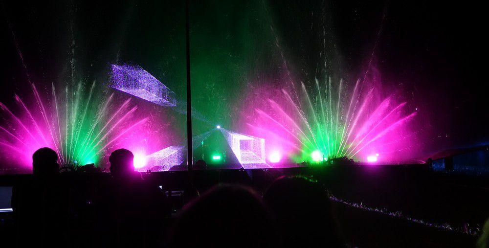 La première Fête de la lumière à Arès, un spectacle féérique...