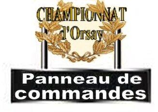 Hub Championnat d'Orsay
