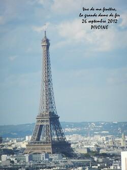 MA VUE SUR PARIS