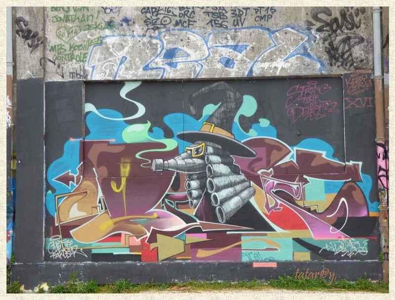 Street Art La Rochelle. 2)