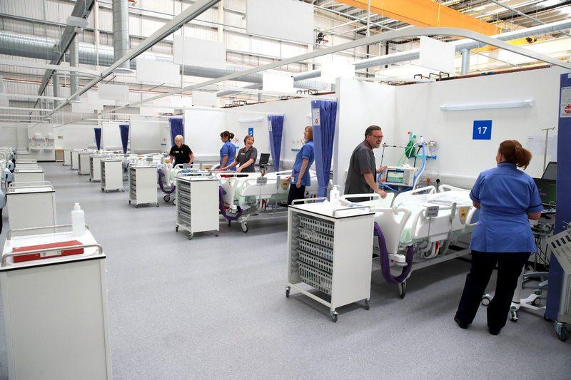 Nouvel hôpital de campagne