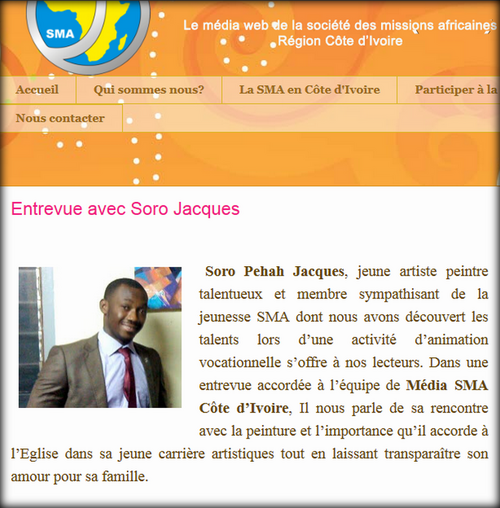 Interview de Pehah Jacques Soro