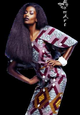 Hölgyek 29 - African woman
