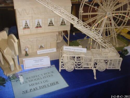 2ème SALON de la maquette et du modèle réduit  1/2   16/02/2013