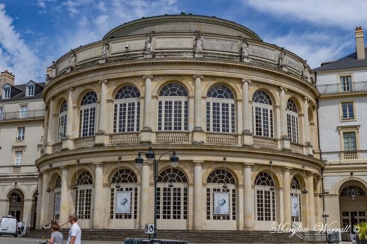Bretagne : Rennes Place de l'hôtel de ville