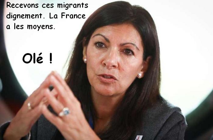 Migrants à Paris : pour Anne Hidalgo, «la situation est inhumaine»