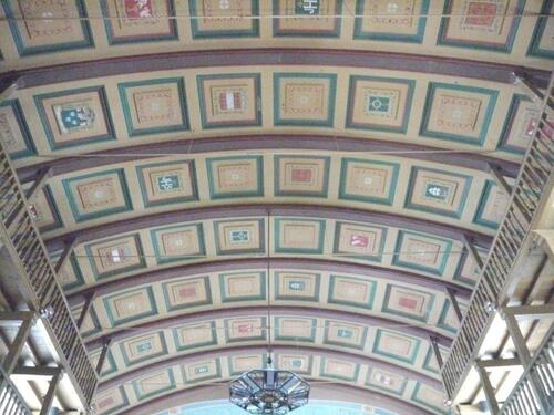 Le Plafond de l'église