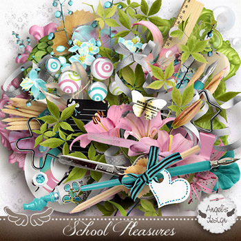 School Pleasures  by Angel's Designs