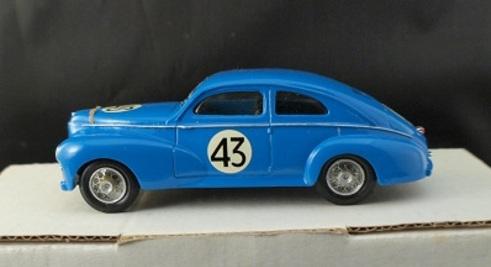 Peugeot au Mans 1952-1955