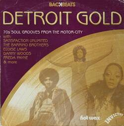 V.A. - Detroit Gold - 70's Soul Grooves From The Motor City - Complete CD