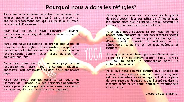 Pourquoi aider les réfugiés