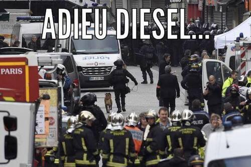 Diesel... tes copains te rendent hommage