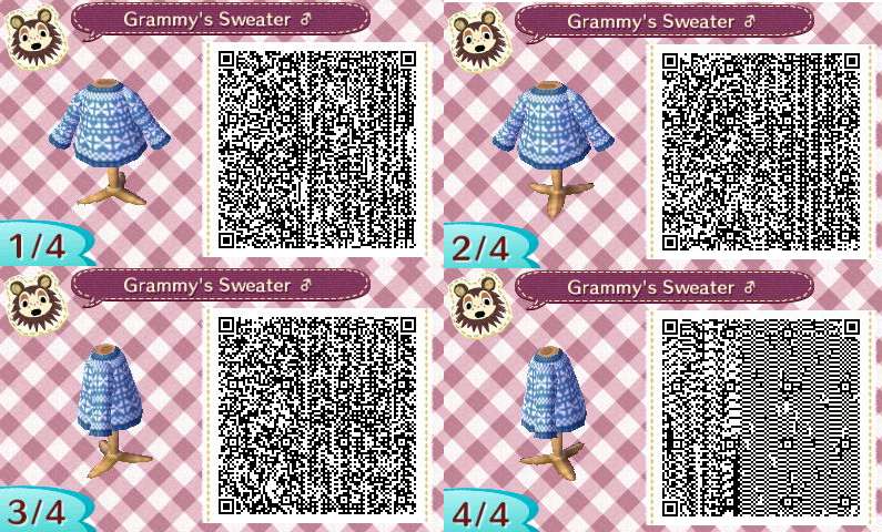 Favori Tenues & Vêtements | QR Code - One Animal Crossing LW15