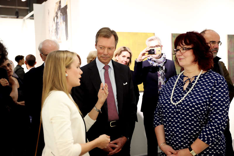 Visite du Salon 2018 du Cercle Artistique de Luxembourg