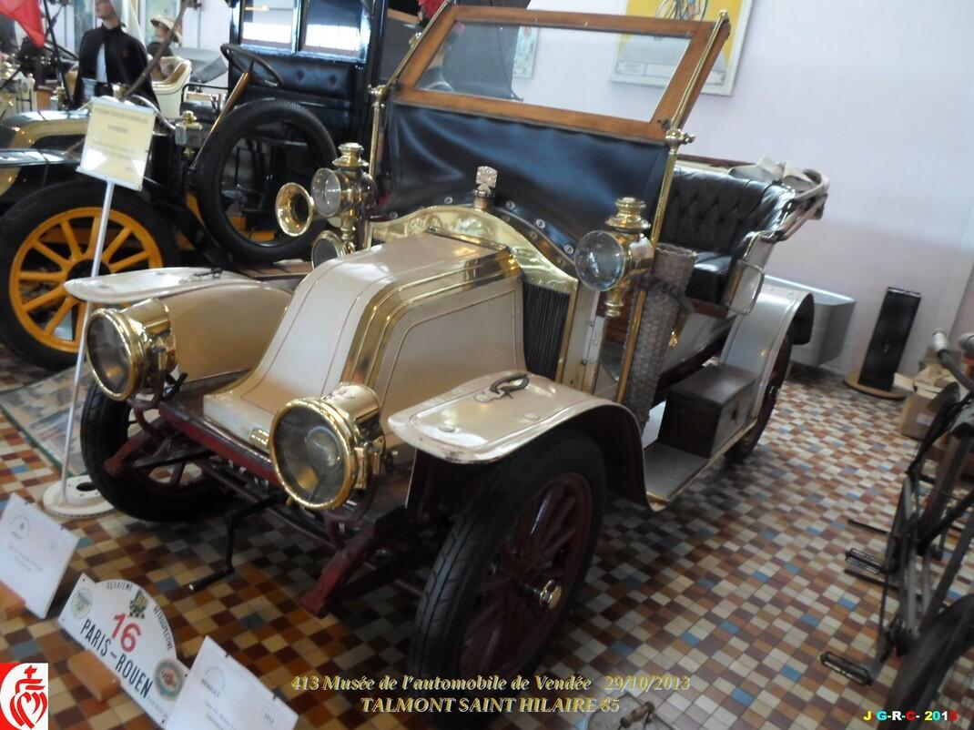 MUSÉE DE L'AUTOMOBILE DE VENDÉE 1/6 ST HILAIRE TALMONT VAC 09/10. 2013  17/01/2014
