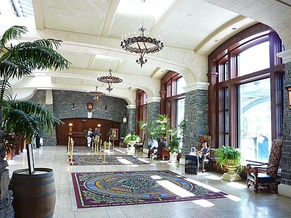 Jour 16 Banff Hotel Fairmont intérieur
