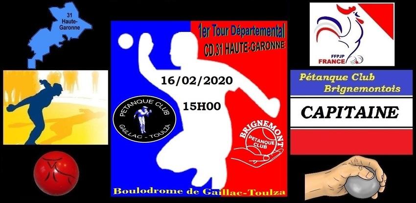 1er tour contre le Club de GAILLAC-TOULZA