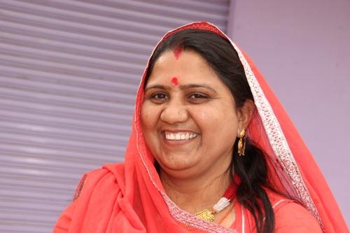 Portraits de femmes, à Bijaipur
