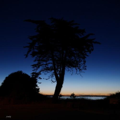Levé de soleil au Cabellou