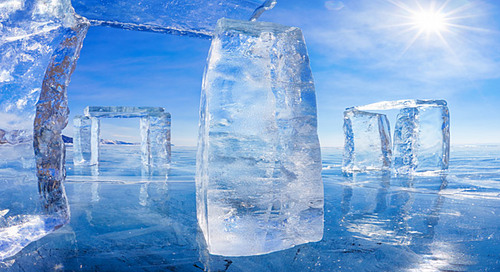 BAIKAL LAKE ICE  (Voyages)