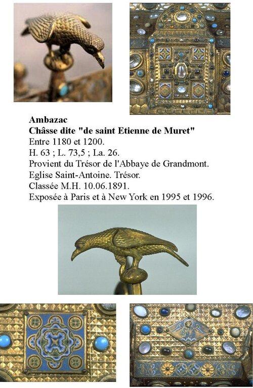"""La Châsse d'Ambazac: Un pur produit historique de """"l'Oeuvre de Limoges"""""""