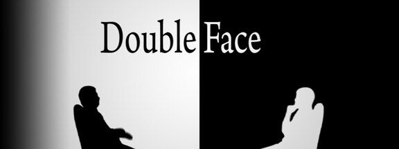 Double face !