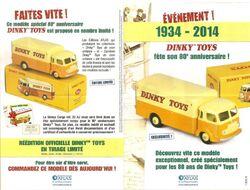 Dinky Toys : 80è Anniversaire - Hors-série