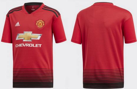 Nouveau maillot Manchester United 2019