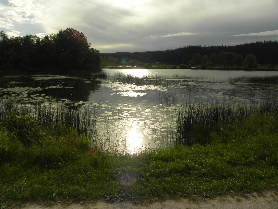 Mes couchers de soleil au lac de Remoray