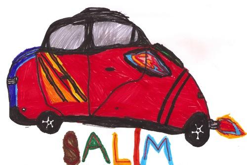 La voiture de Salim