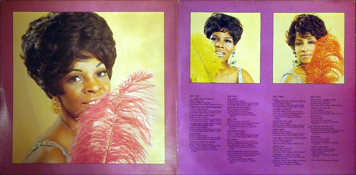 "Martha Reeves & The Vandellas : Album "" Anthology "" Motown Records M7-778R2 [ US ]"