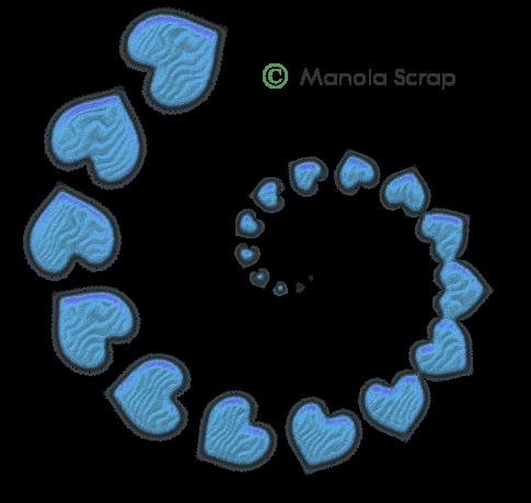Swirls avec coeur 1