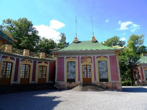 Le pavillon çinois du çâteau de Drottningholm (photos)