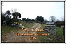 Via de la Plata Fuenterroble de Salvatierra → Salamanque