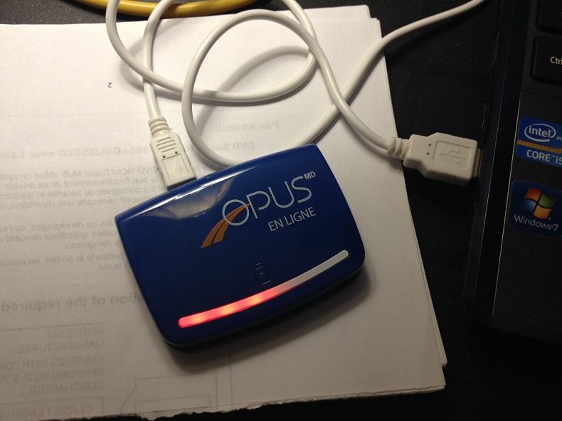 La STM - carte Opus en ligne