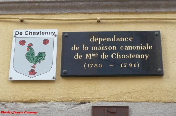 Victorine de Chastenay fut chanoinesse d'Epinal...