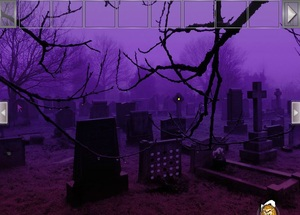 Jouer à Halloween eve graveyard escape