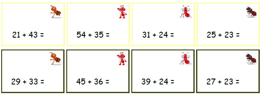 Exercice addition ce2 en ligne - Table de multiplication matou matheux ...