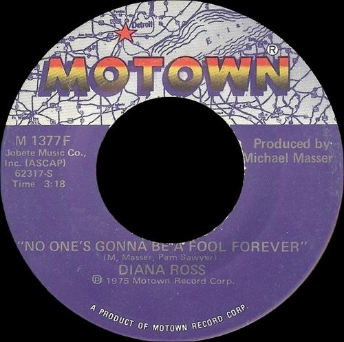 "Diana Ross - 1975 : Album "" The Original Soundtrack Of Mahogany "" Motown Records M6-858S1 [ US ]"
