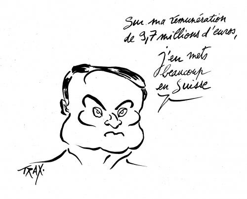 Carlos Ghosn, PDG, 9,7 millions d'euros,Renault  Maroc