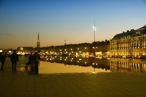Miroir d eaux  Bordeaux